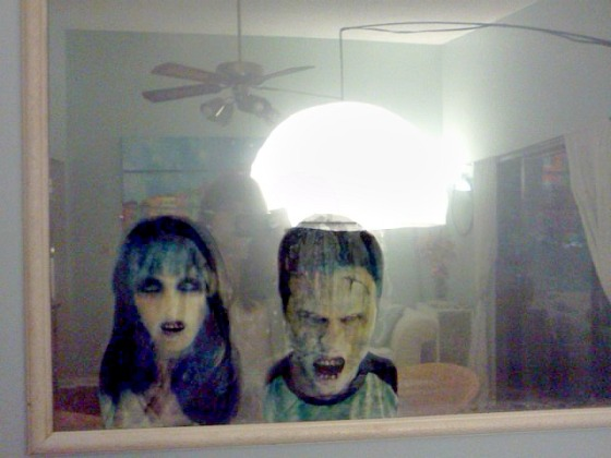 DIY Haunted Mirror